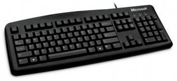 Клавиатура Microsoft Wired 200 черный