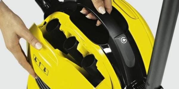Пылесос Karcher VC6200 желтый/черный - фото 3