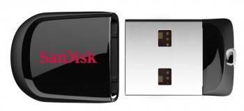Флеш диск Sandisk Cruzer Fit 16ГБ USB2.0 черный (SDCZ33-016G-B35)