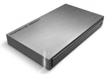 Внешний жесткий диск 500Gb Lacie 301998 Porsche Design серебристый USB 3.0