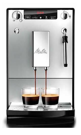 Кофемашина Melitta Caffeo Solo & Milk черный/серебристый (6613204) - фото 1