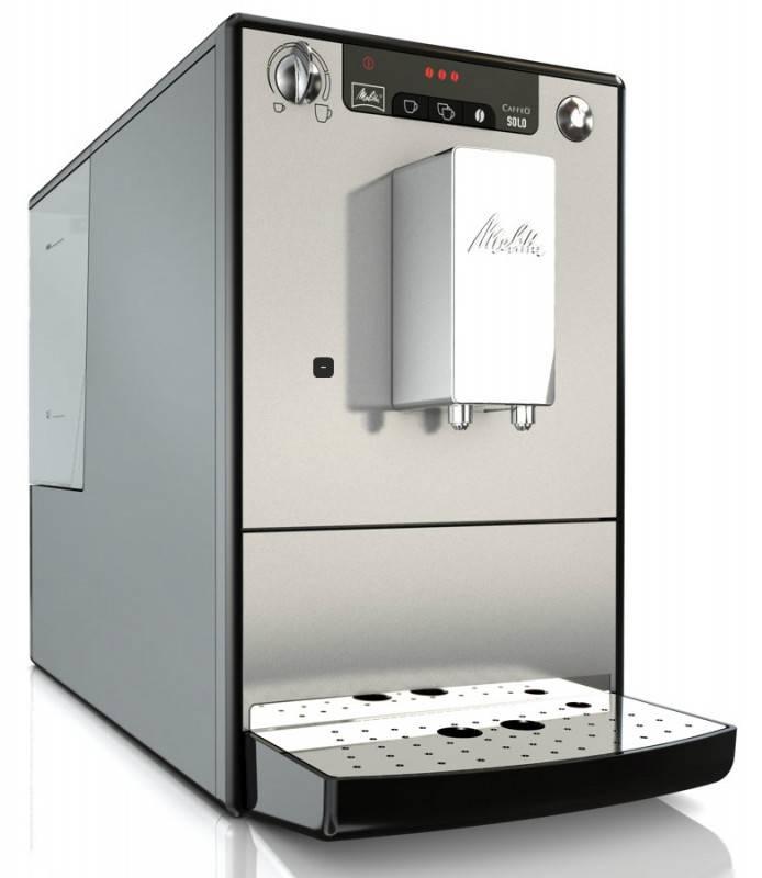 Кофемашина Melitta Caffeo Solo & Milk черный/серебристый (6613204) - фото 2