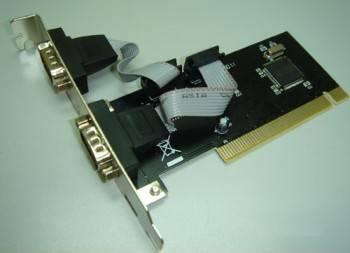 Контроллер PCI WCH351, 2xCOM, Bulk (ASIA PCI 2S)