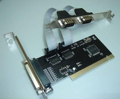 Контроллер PCI WCH353, 1xLPT, 2xCOM, Bulk (COM/LPT 2+1PORT) - фото 1