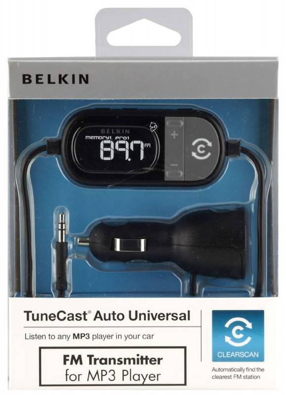 FM-модулятор Belkin F8Z439ea черный - фото 1