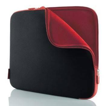 """Чехол для ноутбука 17"""" Belkin F8N049eaBR черный/красный - фото 1"""
