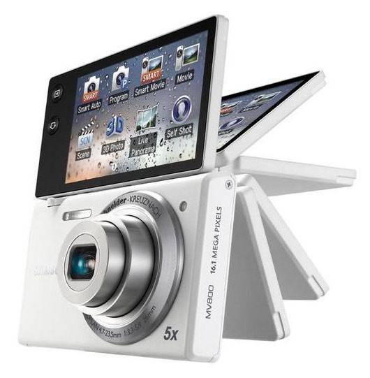 Фотоаппарат Samsung MV800 белый - фото 1