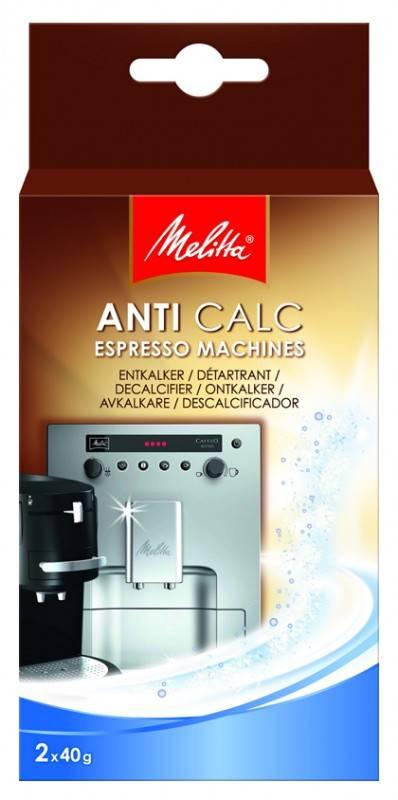 Очиститель от накипи для кофемашин Melitta 40гр., в упаковке 2шт. - фото 1