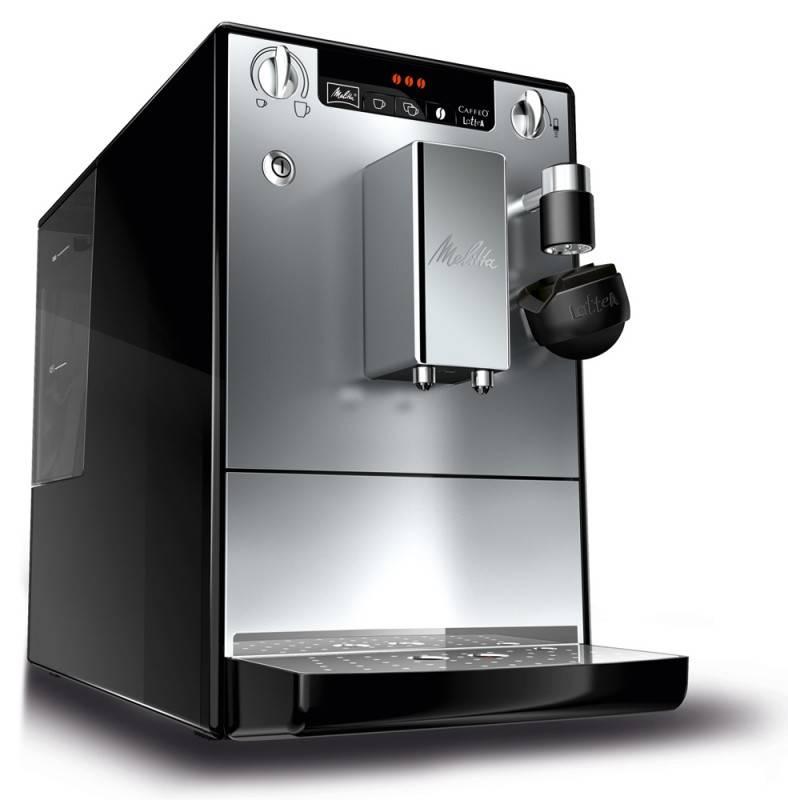 Кофемашина Melitta CAFFEO Lattea черный/серебристый - фото 1