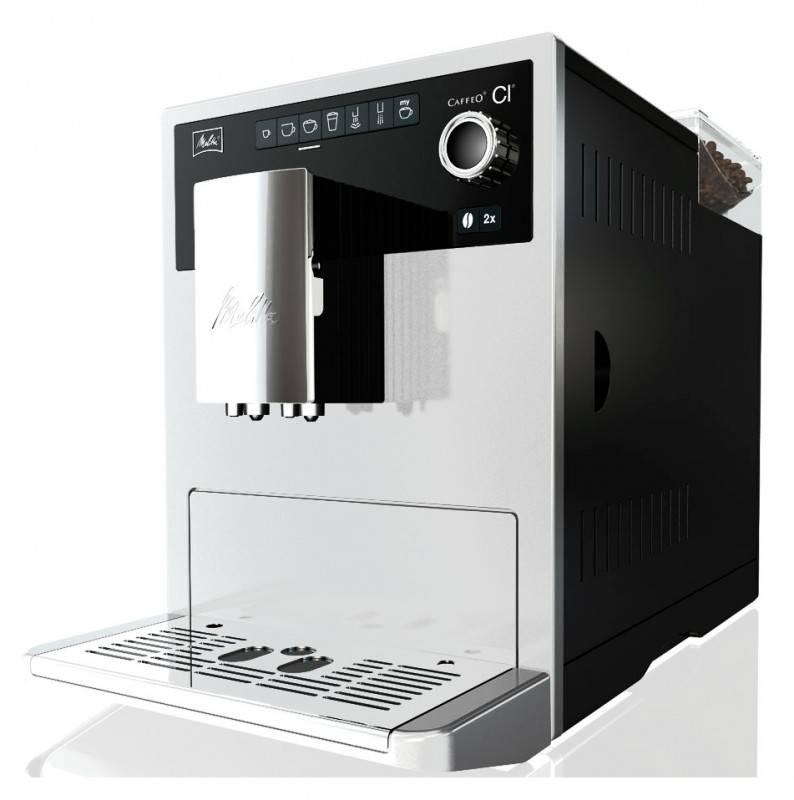 Кофемашина Melitta CAFFEO CI белый - фото 4