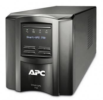 ИБП APC Smart-UPS SMT750I черный