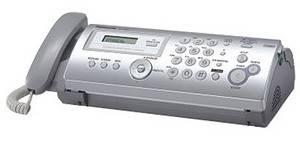 Факс Panasonic KX-FP207RU серый