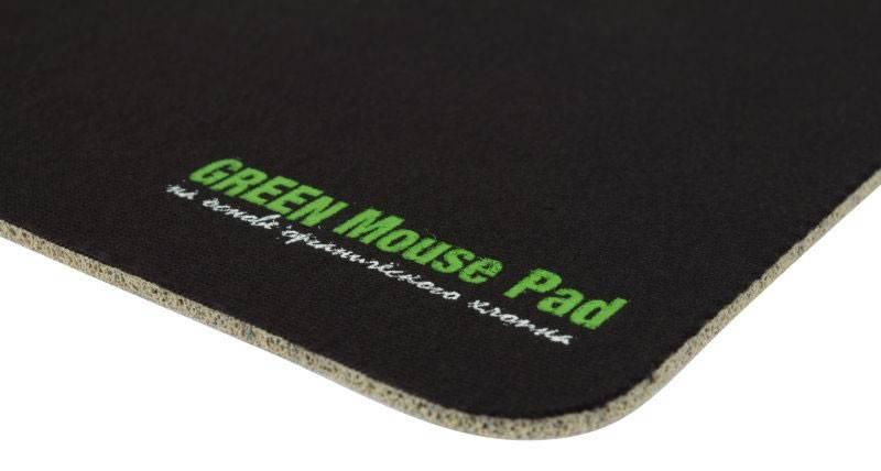 Коврик для мыши PC Pet OC01 GREEN Mouse Pad черный - фото 3