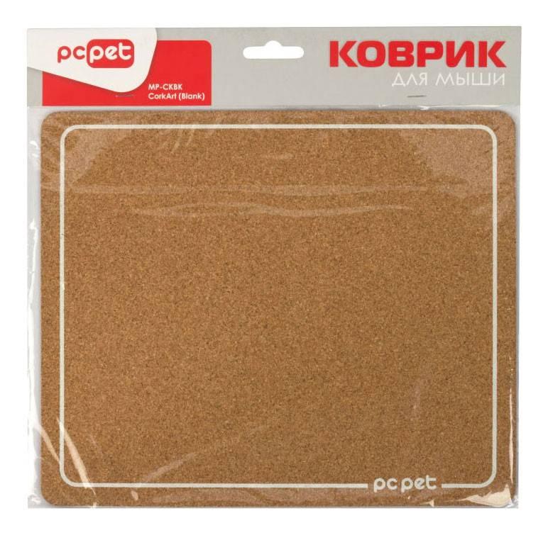 Коврик для мыши PC Pet MP-CKB коричневый - фото 2
