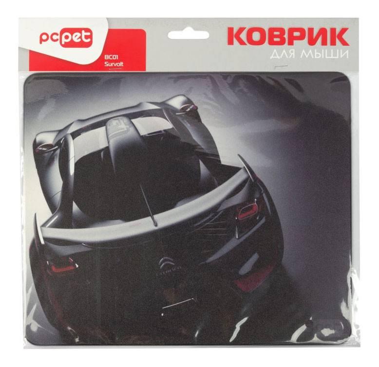 Коврик для мыши PC Pet BC01 survolt черный/рисунок - фото 2