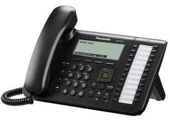 Телефон IP Panasonic KX-UT136RU-B черный