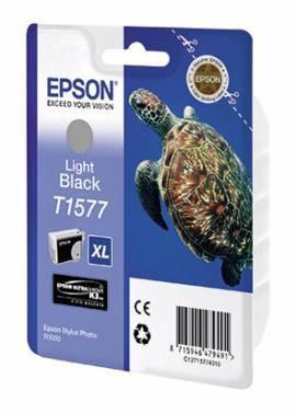Картридж струйный Epson T1577 серый (C13T15774010)