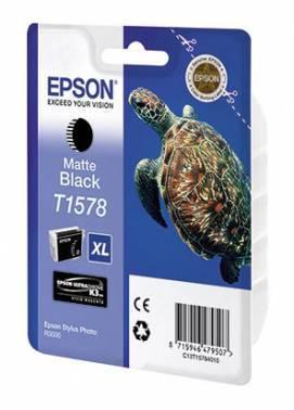 Картридж струйный Epson T1578 черный матовый (C13T15784010)