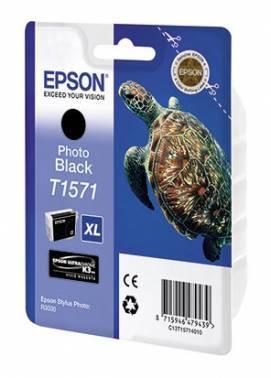 Картридж Epson T1571 фото черный (C13T15714010)
