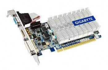Видеокарта Gigabyte GeForce 210, GV-N210SL-1GI 1024 МБ (GV-N210SL-1GI)