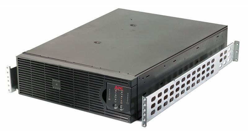 ИБП APC Smart-UPS SURT6000RMXLI (SURT6000XLI + SURTRK2), (комплект из 2 коробок) 4200Вт черный - фото 1