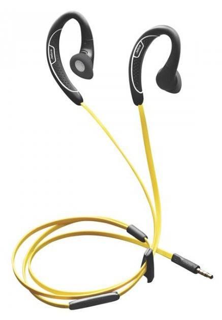 Наушники с микрофоном Jabra Sport-Corded HD Stereo черный - фото 1