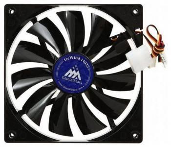 Вентилятор Glacialtech IceWind GS14025, размер 140x140x25мм (CF-1425GSD0AB0001)