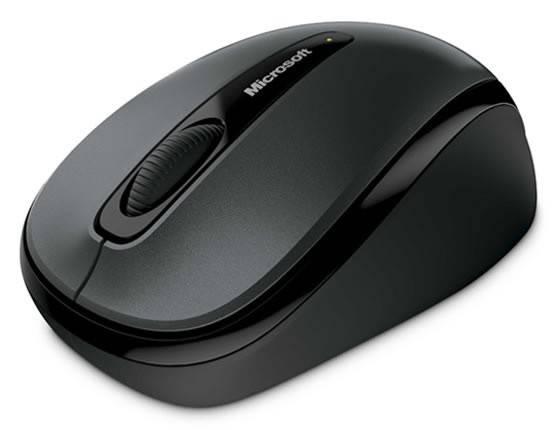 Мышь Microsoft 3500 черный - фото 2