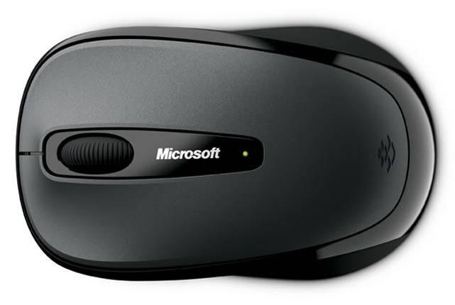 Мышь Microsoft 3500 черный - фото 5