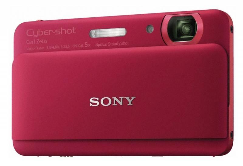 Фотоаппарат Sony Cyber-shot DSC-TX55 красный - фото 1