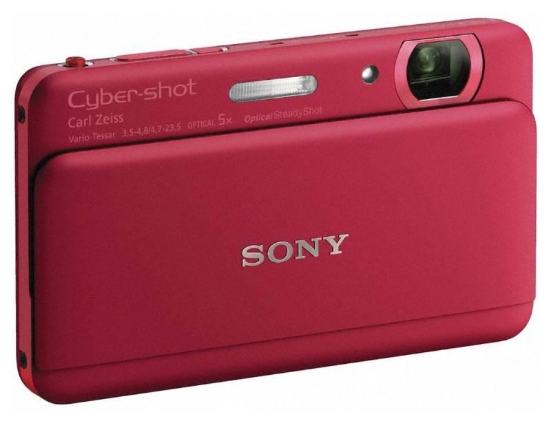 Фотоаппарат Sony Cyber-shot DSC-TX55 красный - фото 4