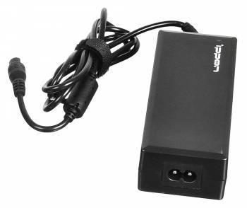 Блок питания Ippon E90 черный, мощность 90Вт, выходное напряжение от 15 до 19.5В, максимальный ток 6A, длина кабеля 1.2м, питание от бытовой электросети