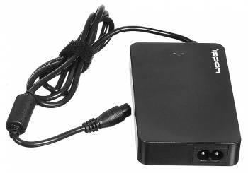 Блок питания Ippon S90U черный, мощность 90Вт, выходное напряжение от 15 до 19.5В, максимальный ток 5A, длина кабеля 1.2м, питание от бытовой электросети