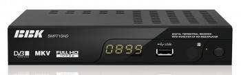 Ресивер DVB-T BBK SMP710HD черный