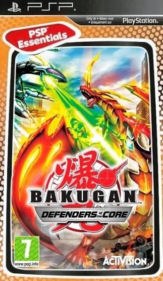 Игра Sony PlayStation Portable Bakugan: Defenders of the Core (Essentials) eng (31758) - фото 1
