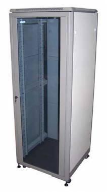 Шкаф коммутационный Lanmaster Eco TWT-CBE-21U-6X8 21U серый