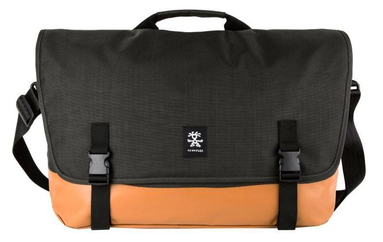 """Сумка для ноутбука 17"""" Crumpler PS-XL-004 черный/оранжевый - фото 1"""