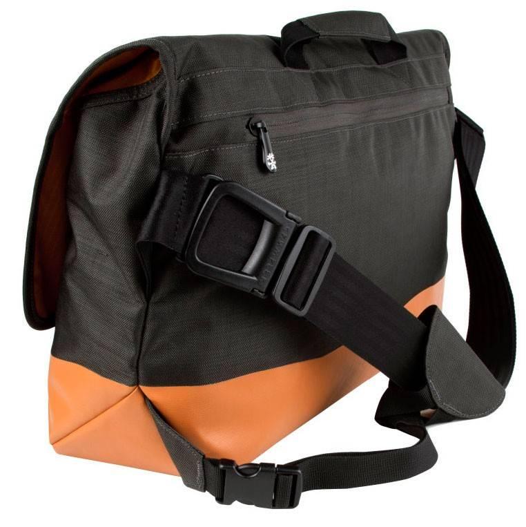 """Сумка для ноутбука 17"""" Crumpler PS-XL-004 черный/оранжевый - фото 2"""