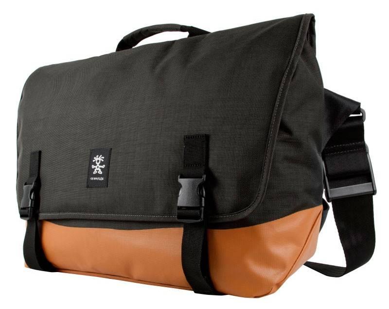 """Сумка для ноутбука 17"""" Crumpler PS-XL-004 черный/оранжевый - фото 4"""