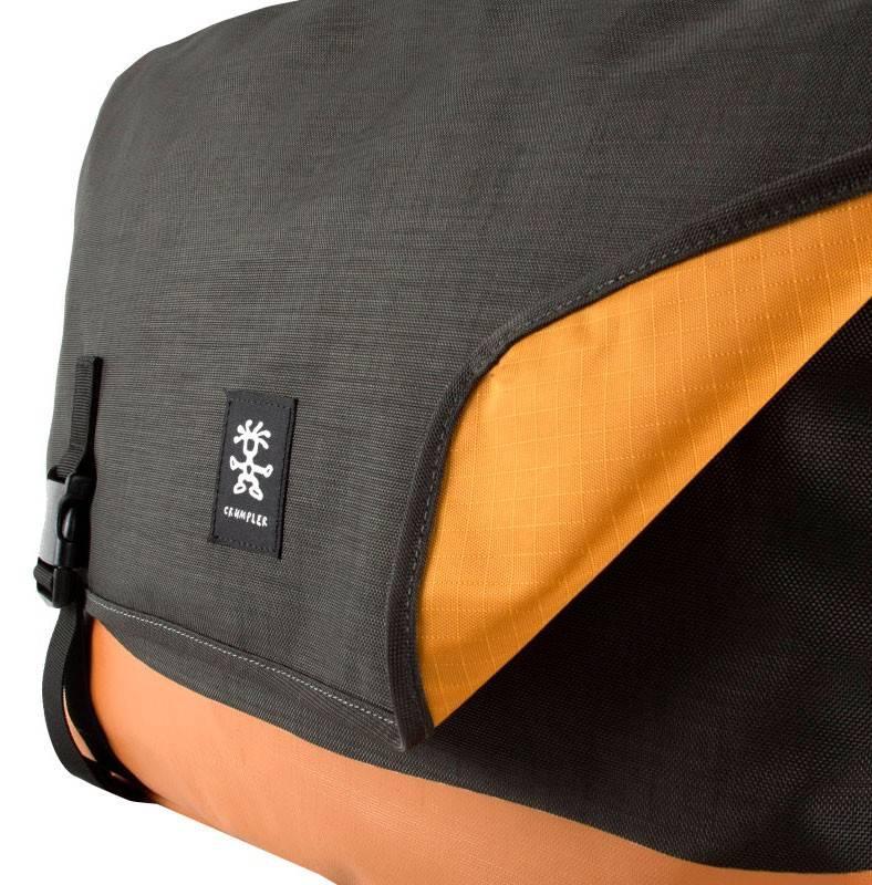"""Сумка для ноутбука 17"""" Crumpler PS-XL-004 черный/оранжевый - фото 5"""