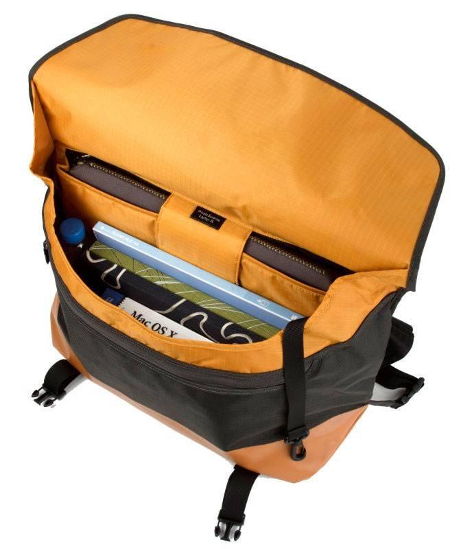 """Сумка для ноутбука 17"""" Crumpler PS-XL-004 черный/оранжевый - фото 6"""