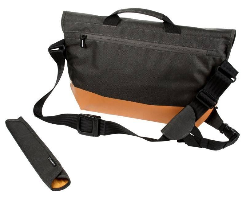 """Сумка для ноутбука 17"""" Crumpler PS-XL-004 черный/оранжевый - фото 7"""