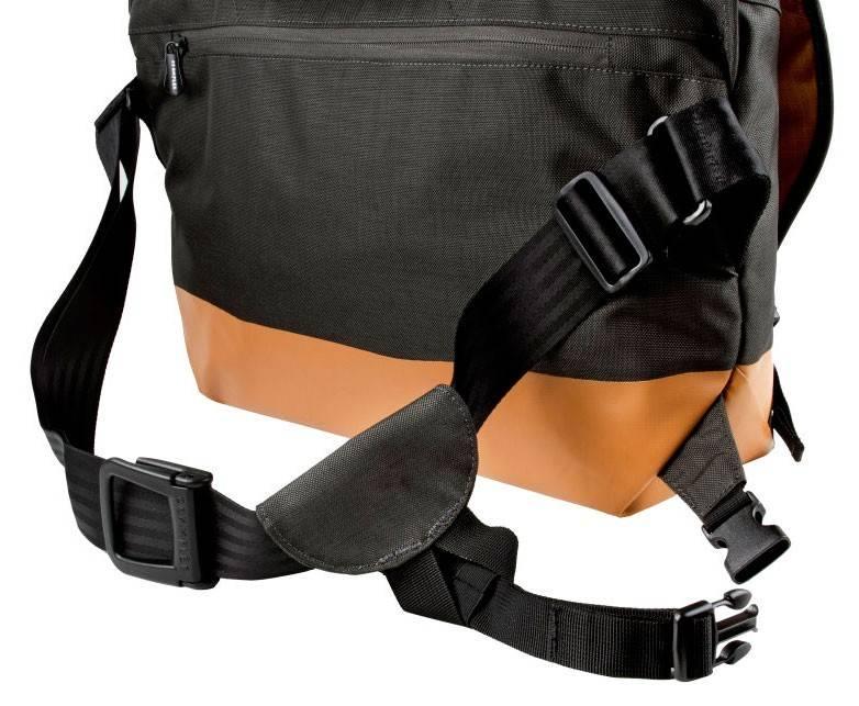 """Сумка для ноутбука 17"""" Crumpler PS-XL-004 черный/оранжевый - фото 8"""
