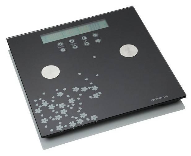 Весы напольные электронные Polaris PWS1526DGF серый/рисунок - фото 1