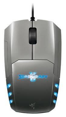 Мышь Razer Spectre StarCraft2 серебристый - фото 2