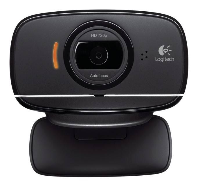 Камера Web Logitech HD Webcam B525 черный - фото 1
