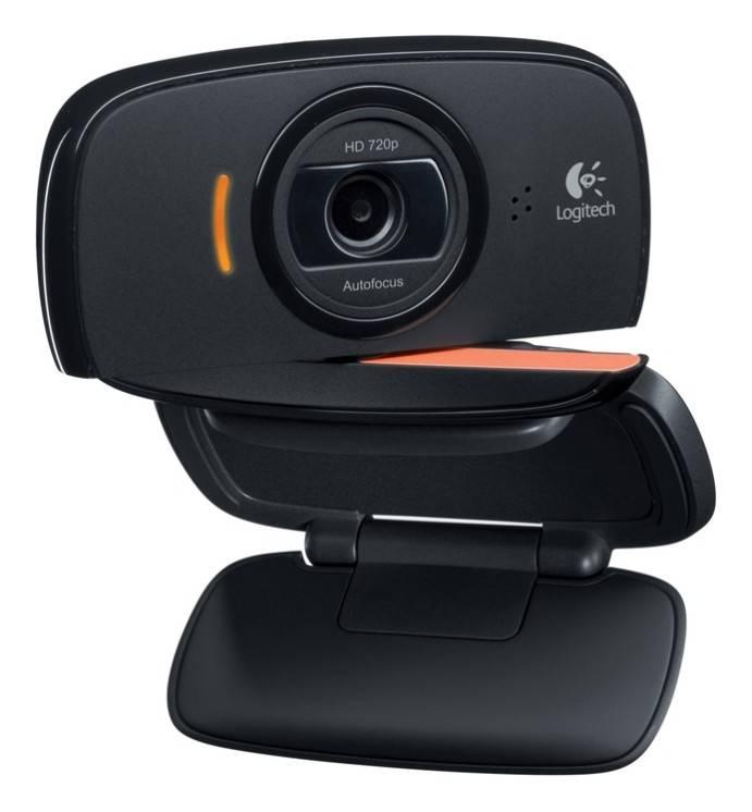 Камера Web Logitech HD Webcam B525 черный - фото 2