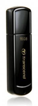 Флеш диск Transcend Jetflash 350 16ГБ USB2.0 черный (TS16GJF350)