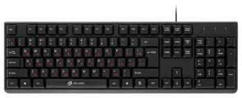Клавиатура Oklick 100M черный