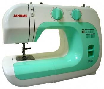 Швейная машина Janome 2055 белый